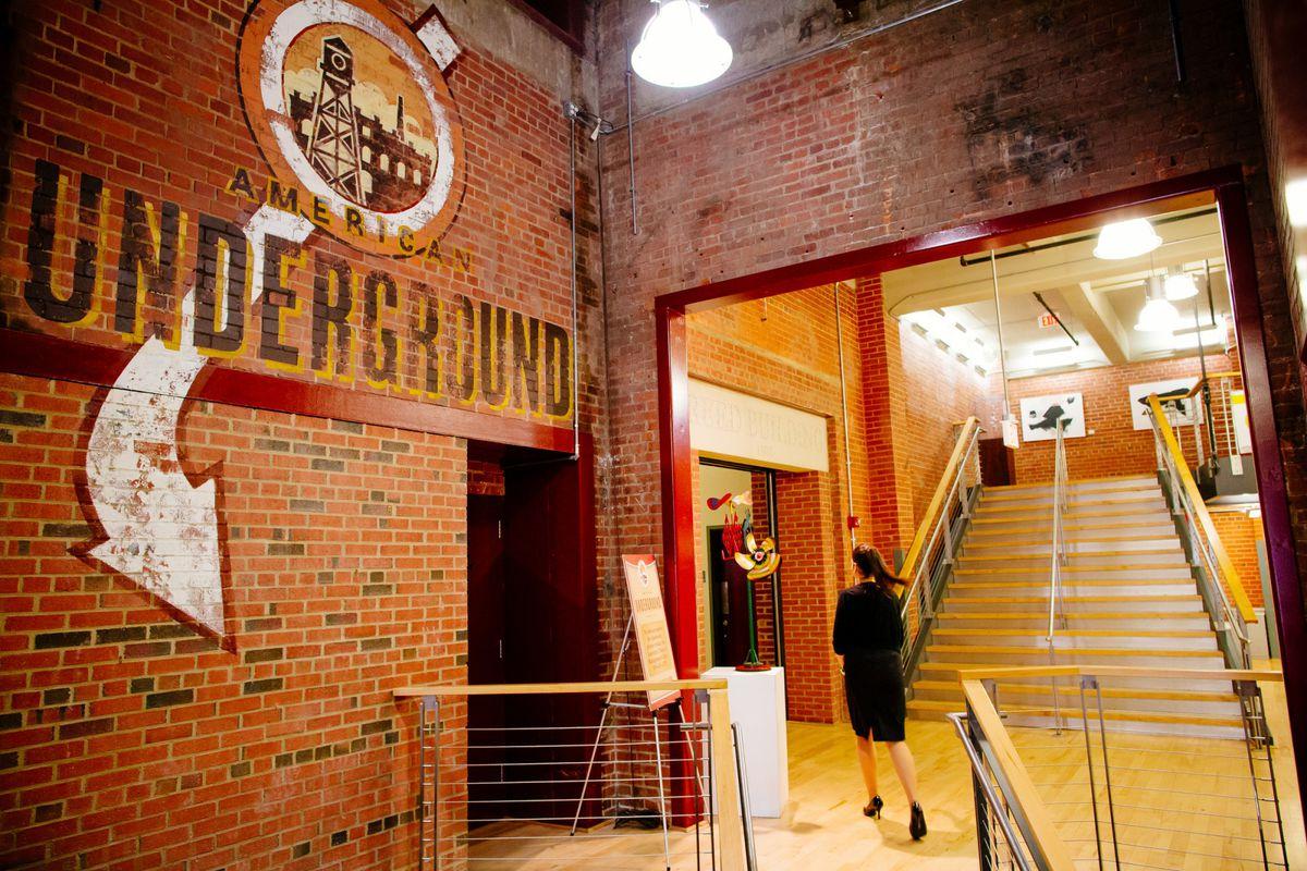 American Underground, a startup hub in Durham, North Carolina