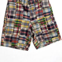 """<a href=""""http://www.brooksbrothers.com/IWCatProductPage.process?Merchant_Id=1&Section_Id=415&Parent_id=1036&Product_Id=1517801"""" rel=""""nofollow"""">Patchwork Madras Shorts</a>, $55<br /><br />"""