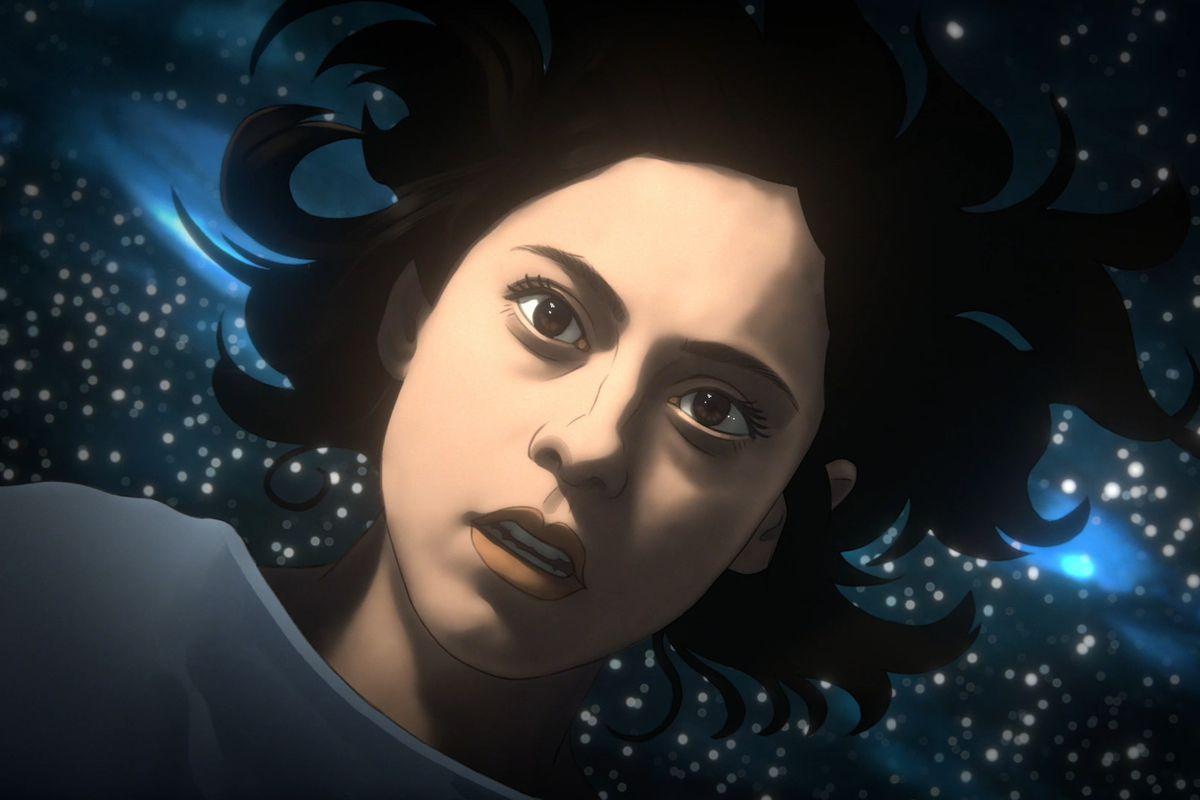 """Undone"" stars Rosa Salazar as Alma."