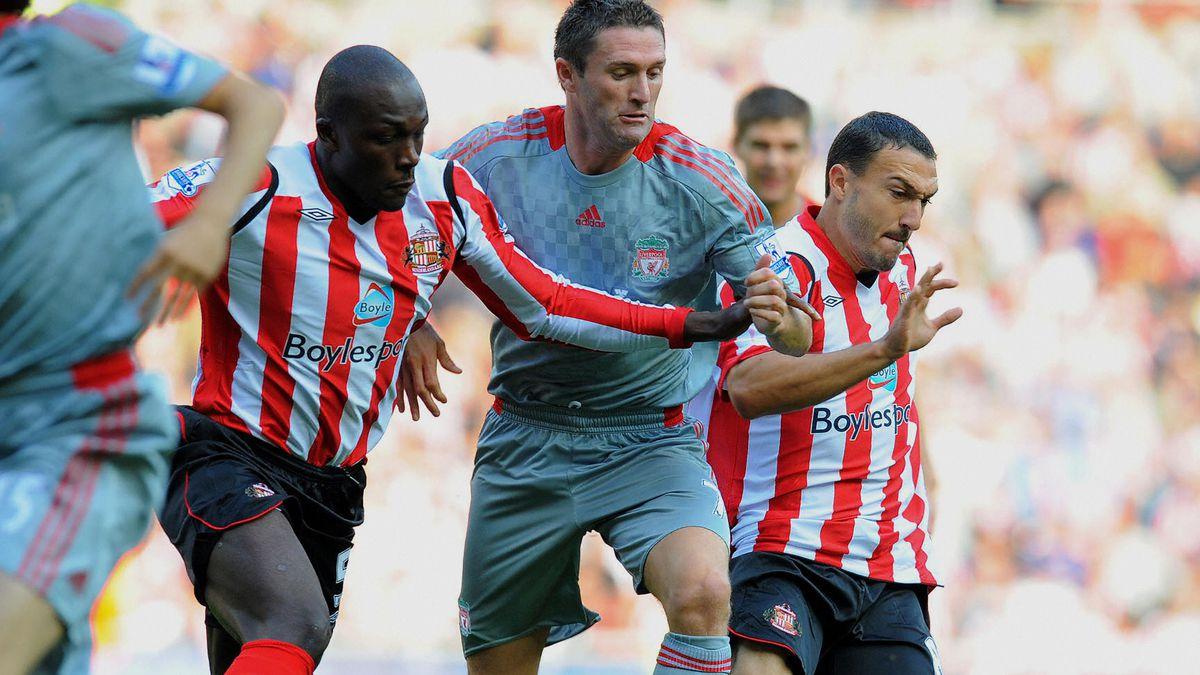 Liverpool's Irish forward Robbie Keane (