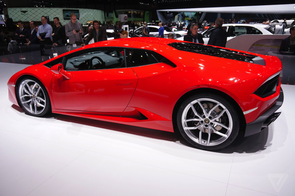 I Love This Ferrari Red Lamborghini The Verge