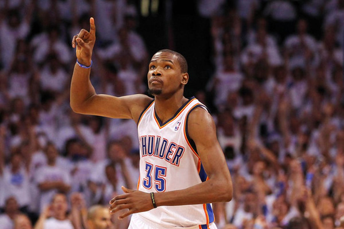 Well, just number two for now KD