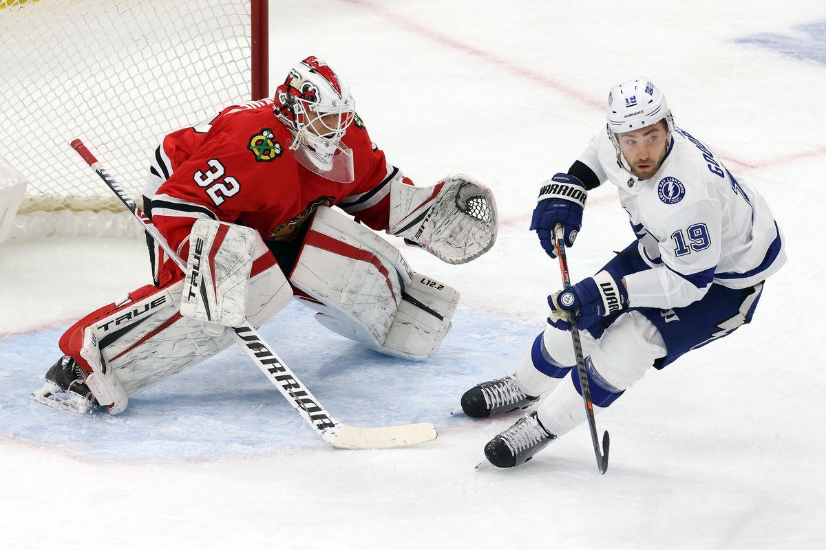 NHL: MAR 07 Lightning at Blackhawks
