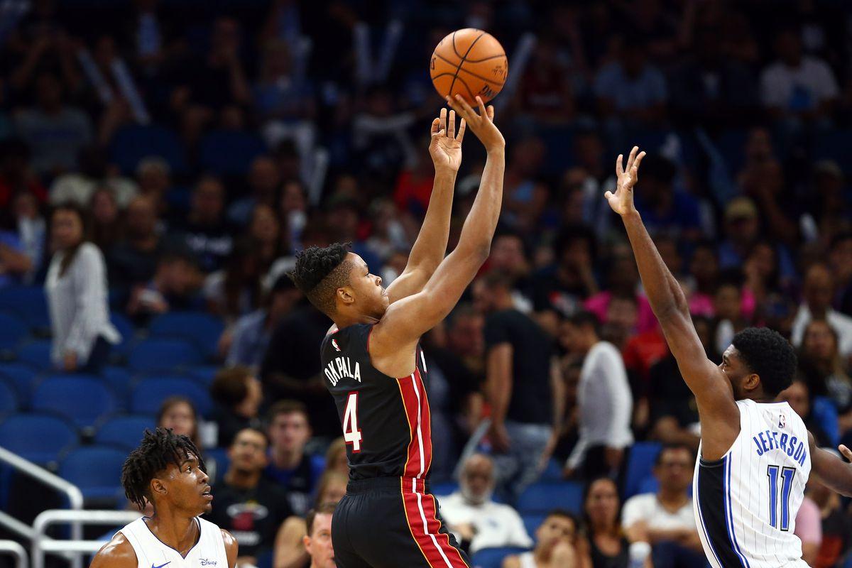 NBA: Preseason-Miami Heat at Orlando Magic