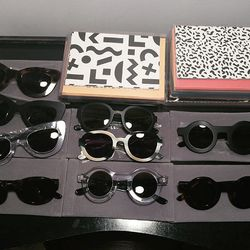 Dusen Dusen sunglasses and sets of blank greeting cards