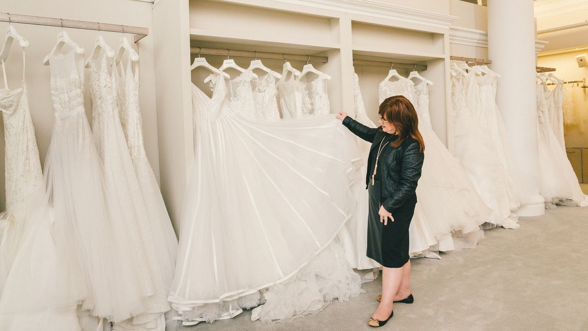 Behind the veil with kleinfelds modest bridal consultant racked behind the veil with kleinfelds modest bridal consultant junglespirit Image collections