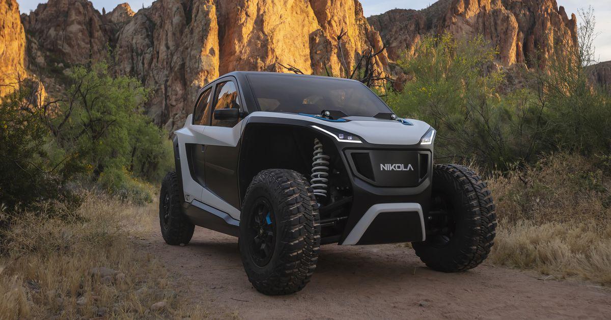 Nikola's off-road EV is a high-tech speed demon - The Verge 4
