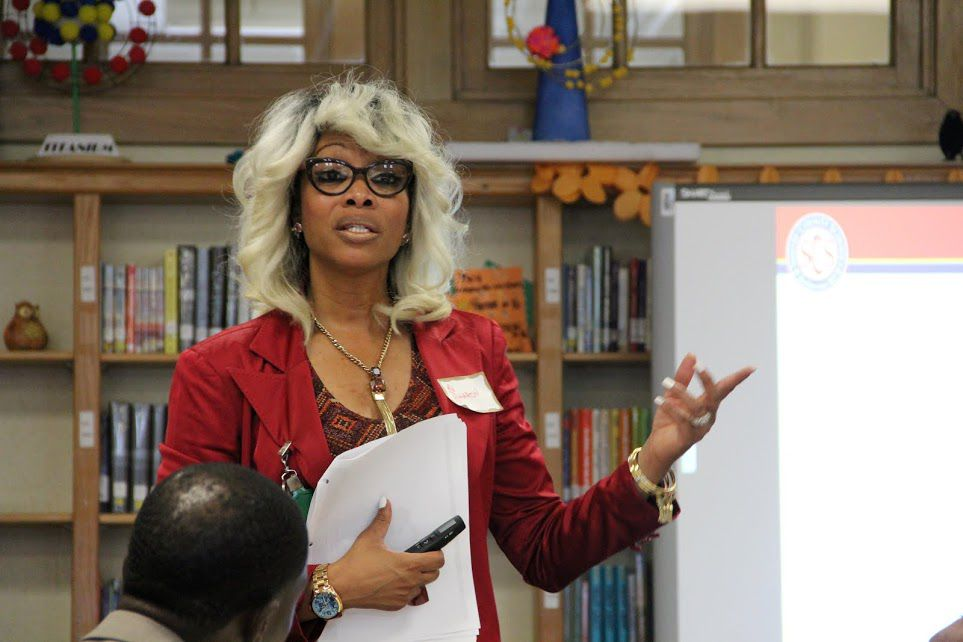 Sharon Griffin has been chief of schools since her promotion from regional superintendent of the Innovation Zone.