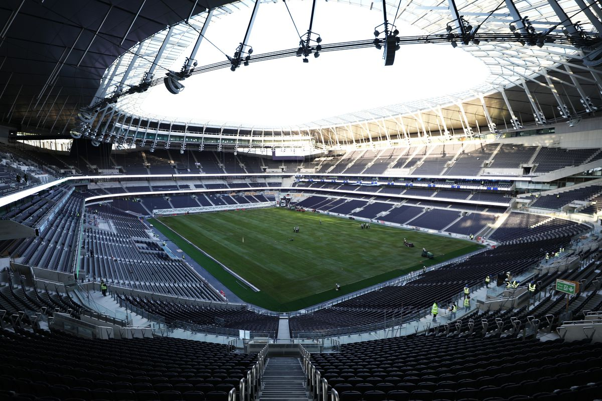 Image result for tottenham hotspur stadium