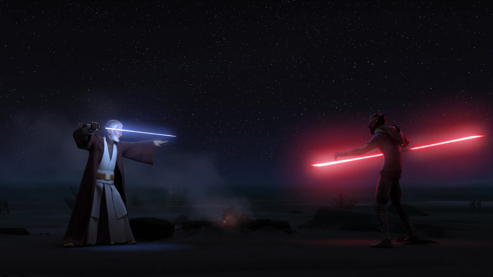 Star Wars Rebels Brought Back Darth Maul This Week For A Fitting Duel The Verge
