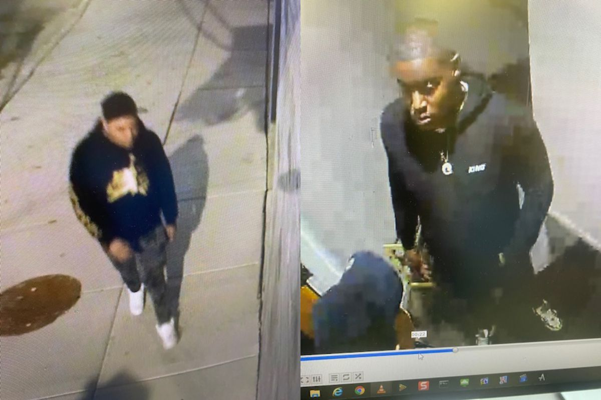 Police say these two men are wanted in a murder from Sept. 12, 2020, in the 700 block of North Morgan Street.