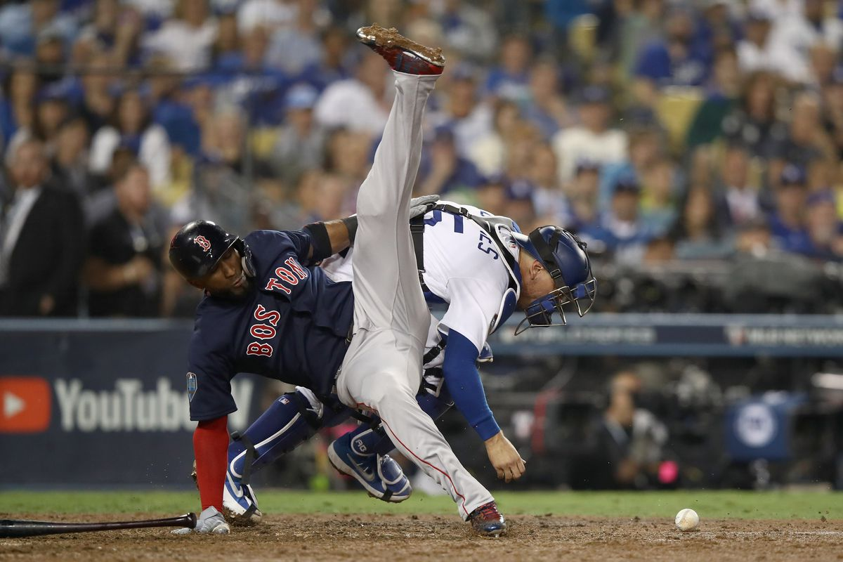 World Series - Boston Red Sox v Los Angeles Dodgers - Game Four