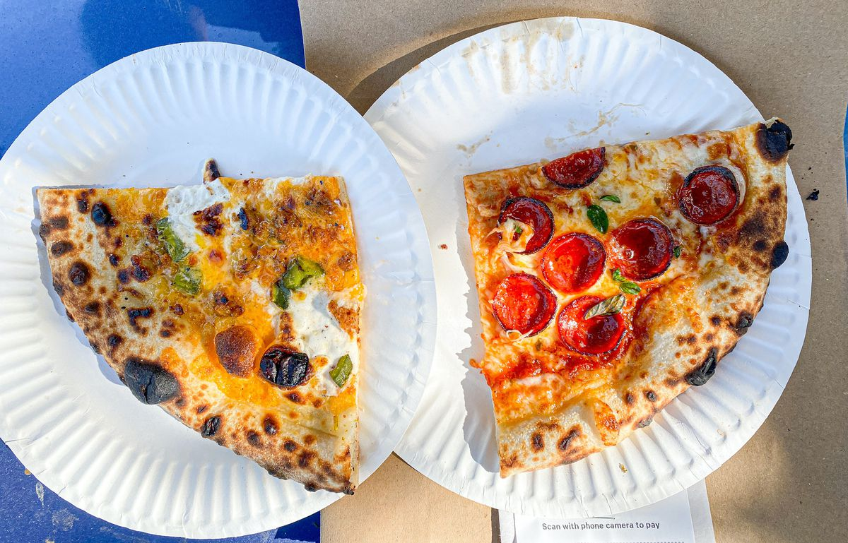 Surprise slices from Brooklyn Ave. Pizza Co. in Boyle Heights.