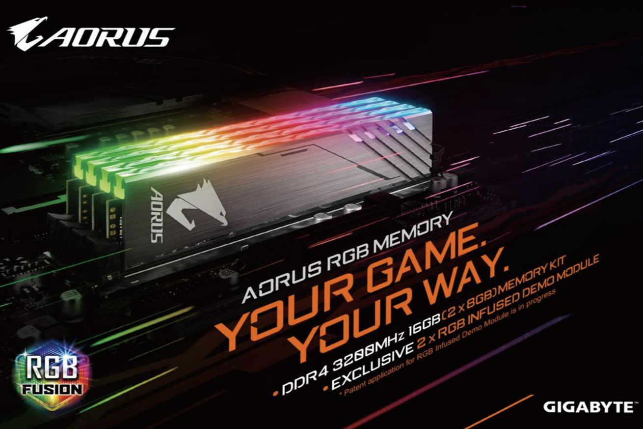 gigabyte will sell you fake color changing ram