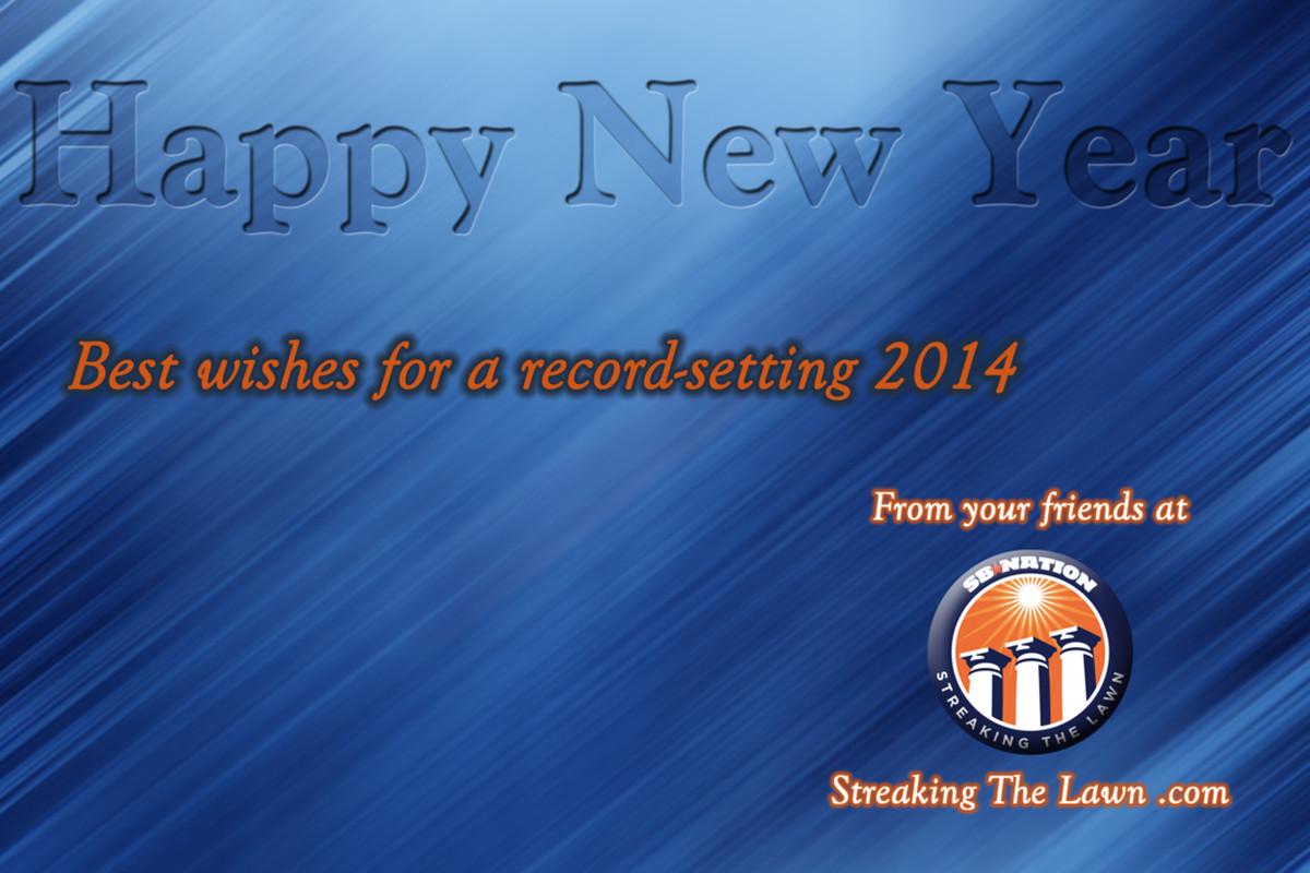 Happy New Year from StreakingTheLawn