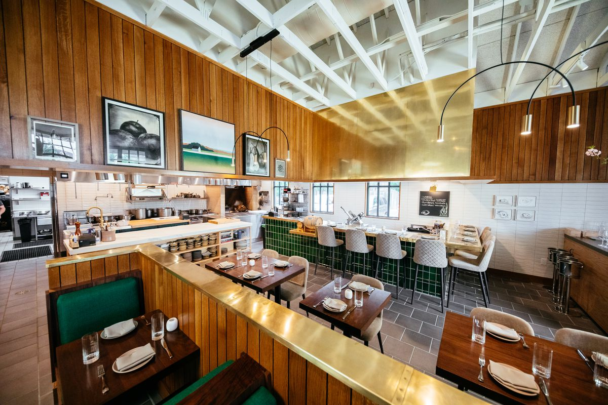 The dining room at Homewood in Dallas