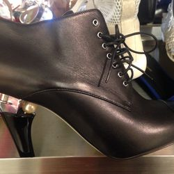 Chanel booties, size 7, $1,009 (were $1,675)