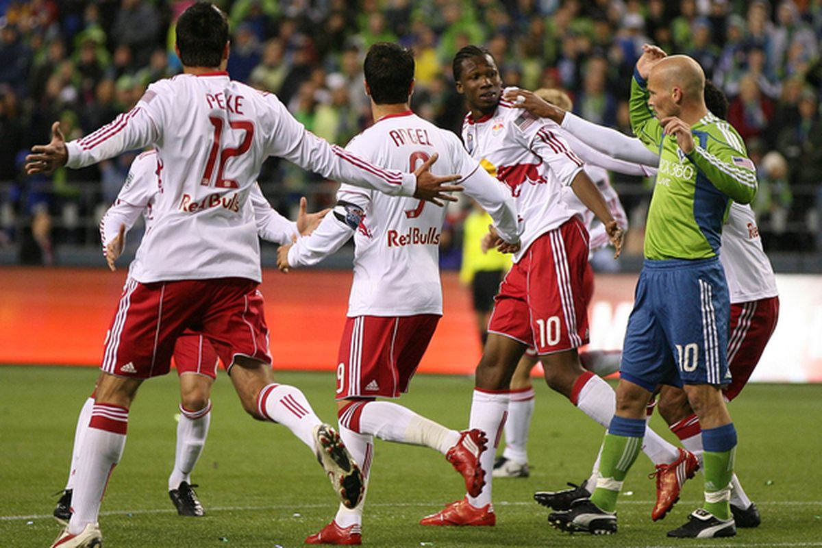 Three guys who no longer play for the Red Bulls beating Seattle in their house last year.