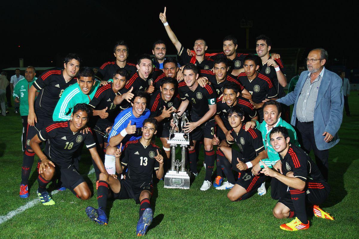 Mexico v Turkey - Toulon Tournament Final