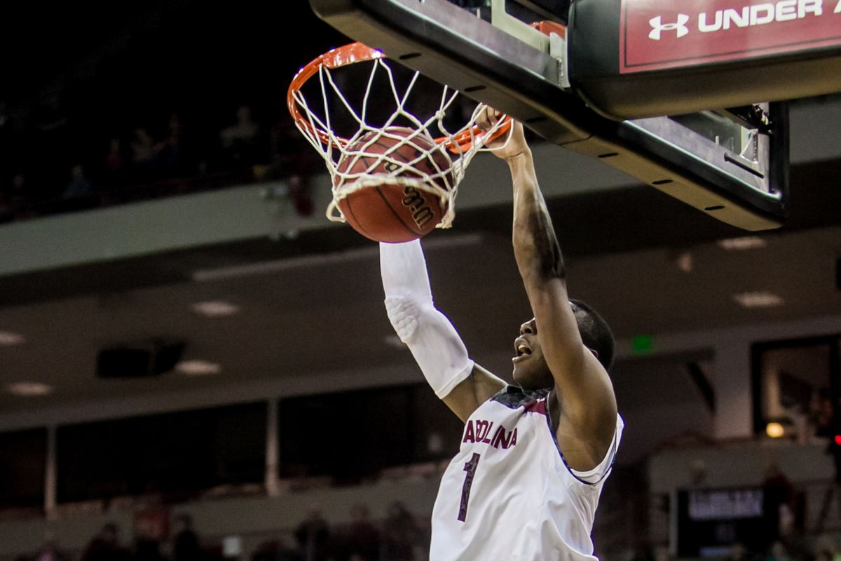 Brenton Williams and the Gamecocks return to action Tuesday evening.