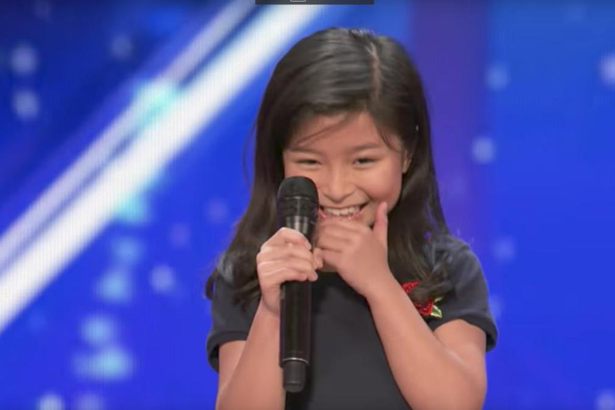 """Celine Tam, who was named after Celine Dion, just paid homage to her namesake with a cover of Dion's Oscar-winning song, """"My Heart Will Go On."""""""