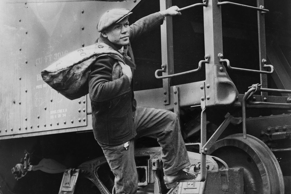 In the 1930s, lightweight boxer Lou Ambers occasionally rode the rails across the country.