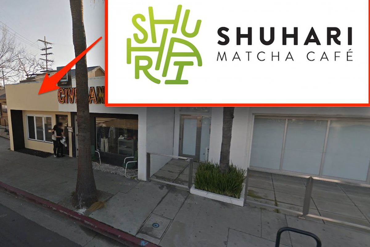 Venice Will Sport A New Matcha Green Tea Cafe Eater La