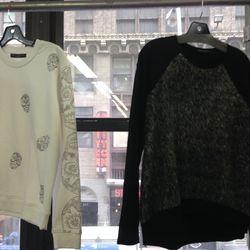 Generation love sweatshirts, $45