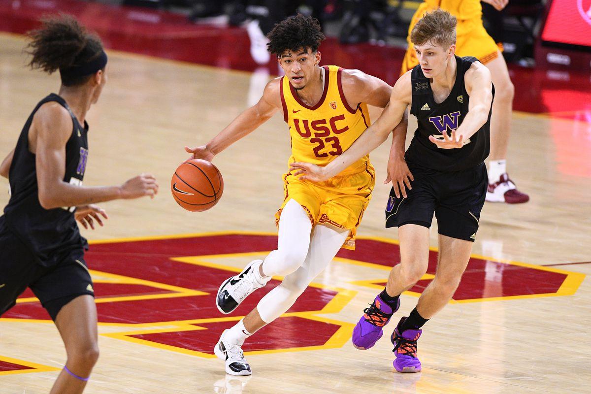 COLLEGE BASKETBALL: JAN 14 Washington at USC