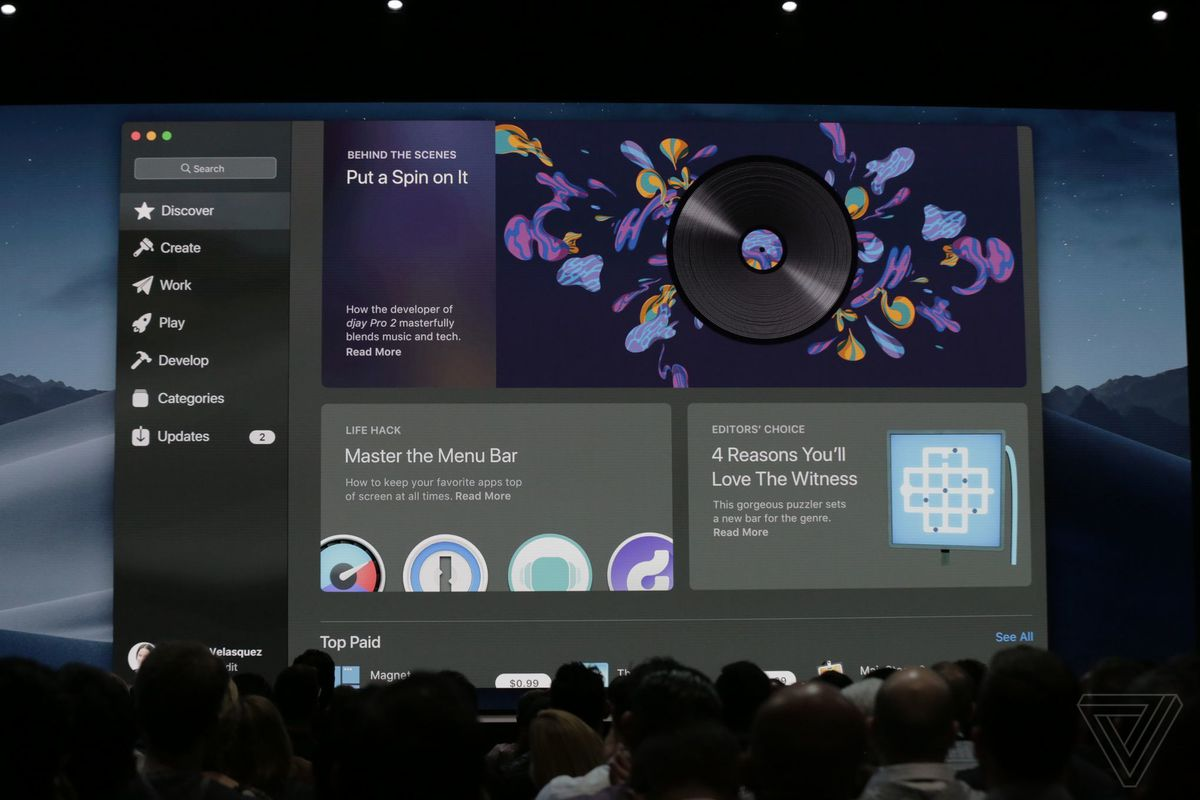 Apple is redesigning the Mac App Store in macOS Mojave - The Verge