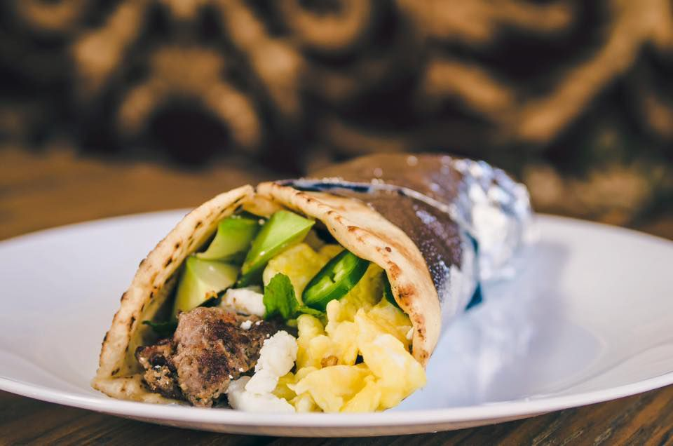 A wrap from Kebabalicious