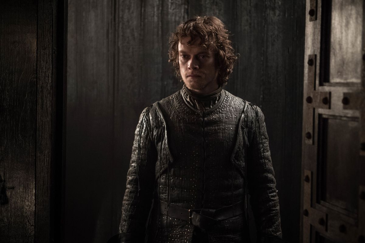 Theon on Game of Thrones.
