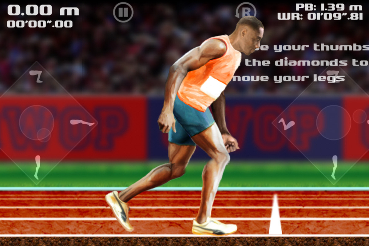 Qwop stumbles across the android finish line over two years after qwop android ccuart Images
