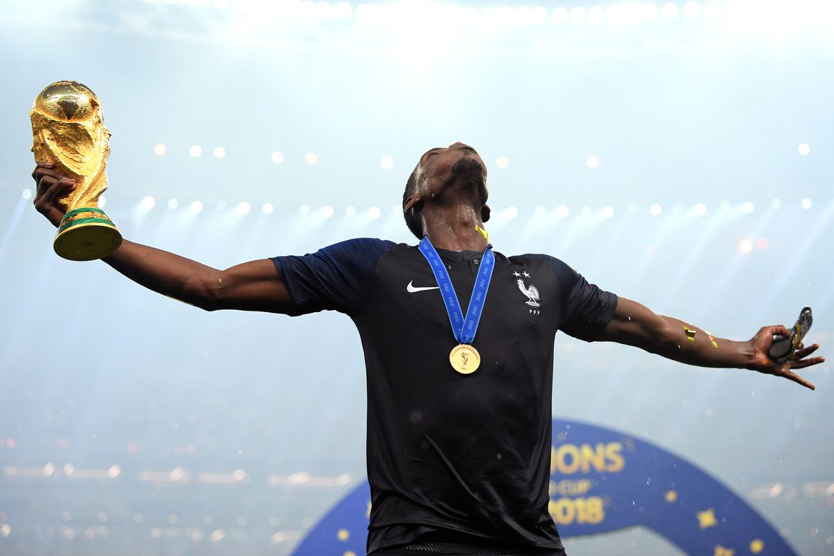 Reds In Russia: PAUL POGBA IS A WORLD CUP WINNER