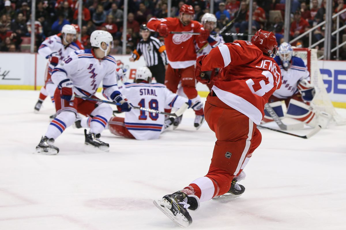 NHL: MAR 12 Rangers at Red Wings
