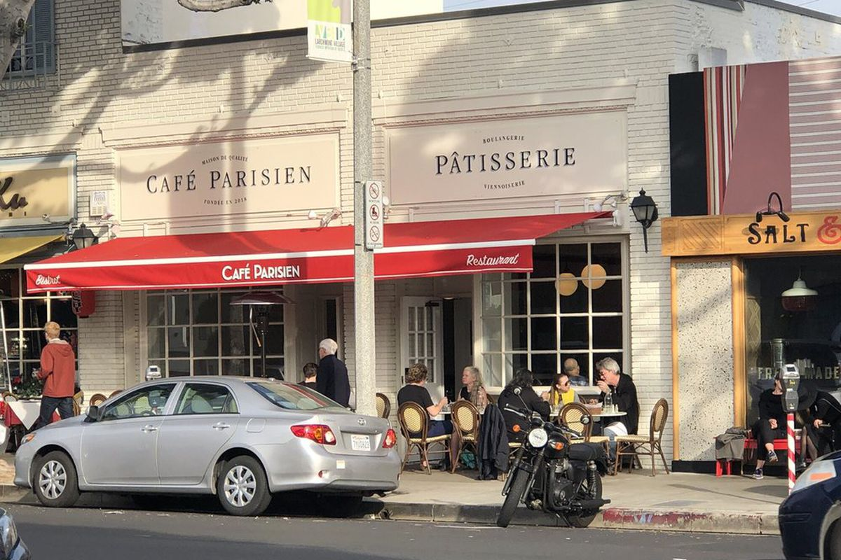 Warm New French Cafe Parisien Hits the Block in Busy ...