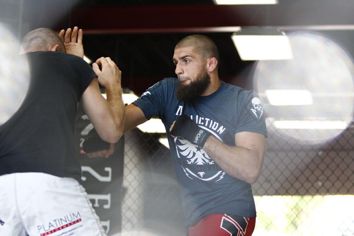 UFC 149 Workout Photos