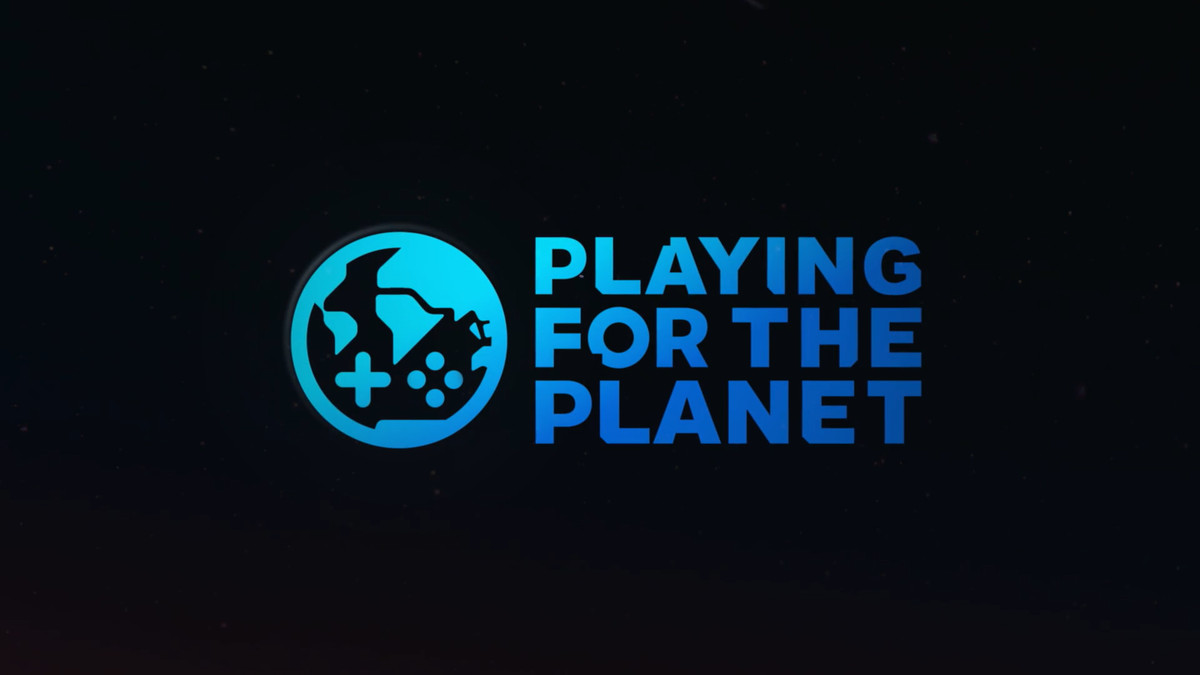 Playing for the planet logo