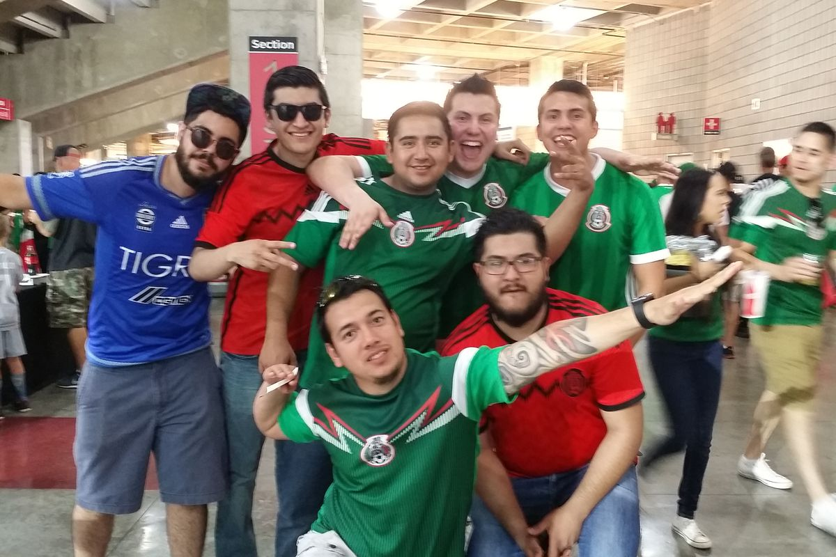 Fans of the Mexico National Team were out in force Sunday night in Arizona