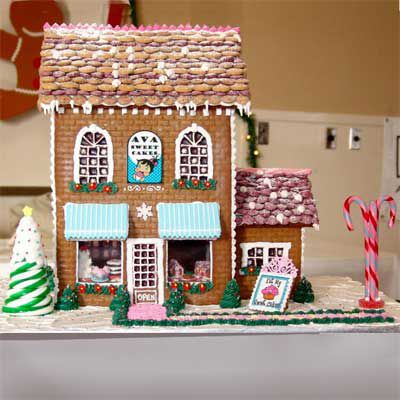 Gingerbread bakery.
