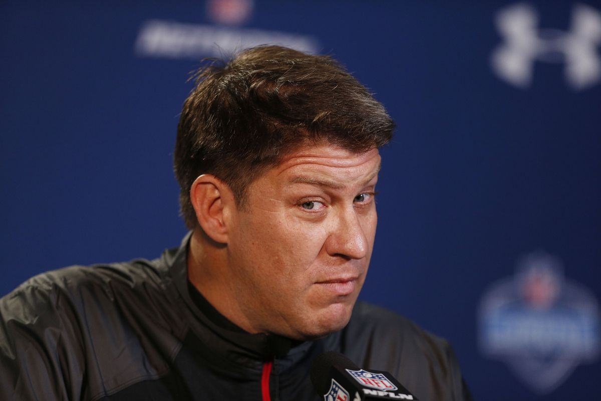 How will Jason Licht approach his first draft as GM of the Buccaneers?
