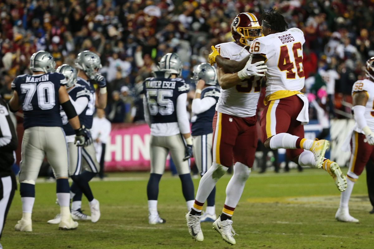 Redskins Wrangle Cowboys 20-17 In Nail-Biting 002fc0828