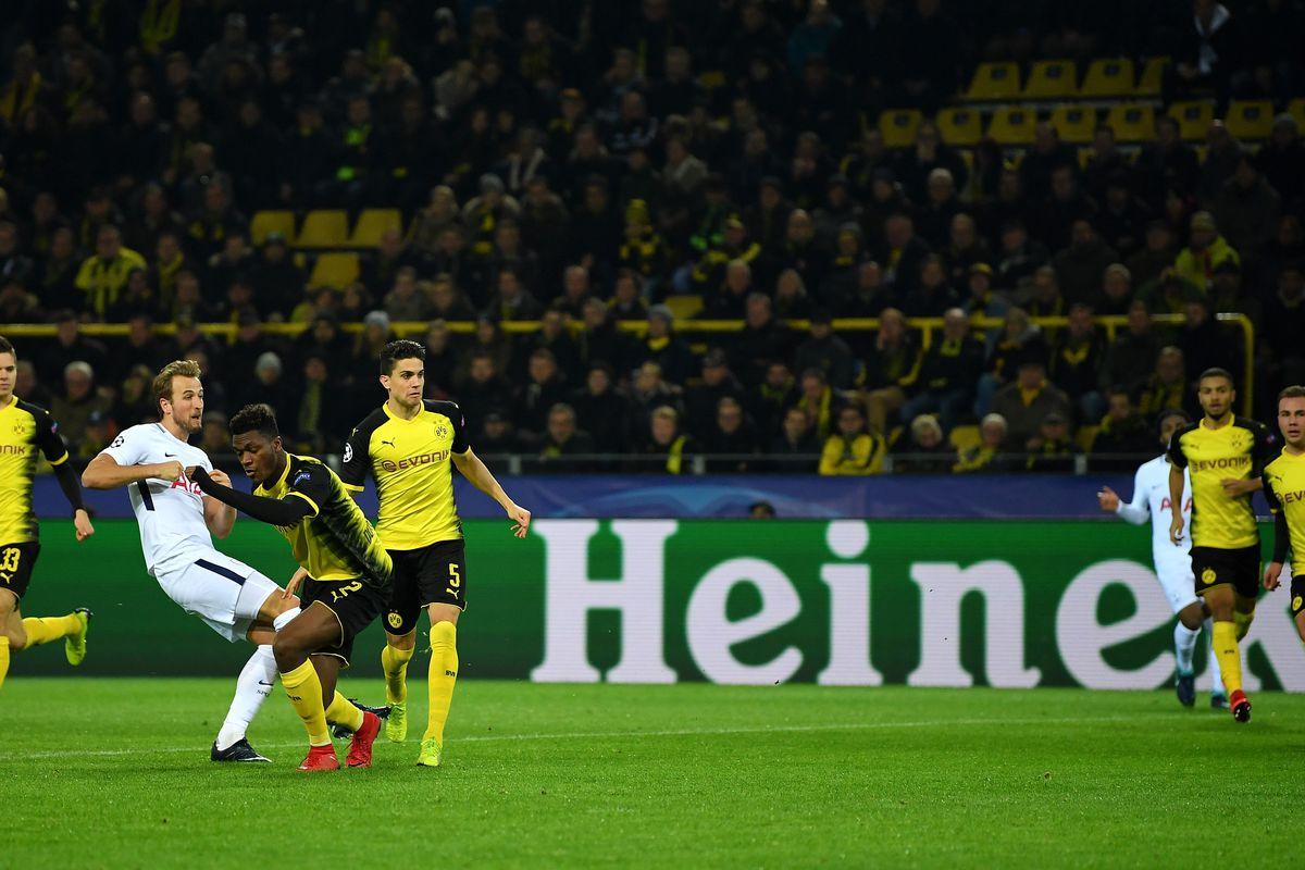 Borussia Dortmund v Tottenham Hotspur - UEFA Champions League