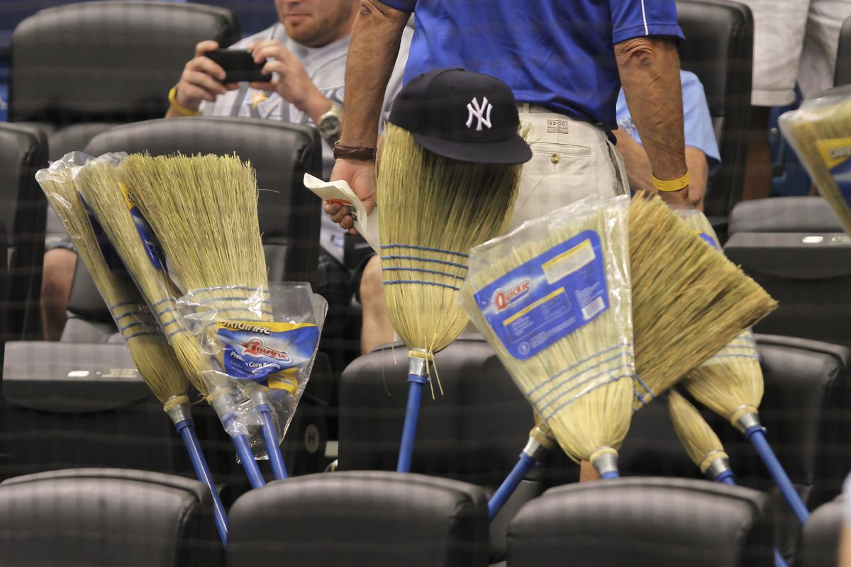 MLB: APR 08 Yankees at Rays