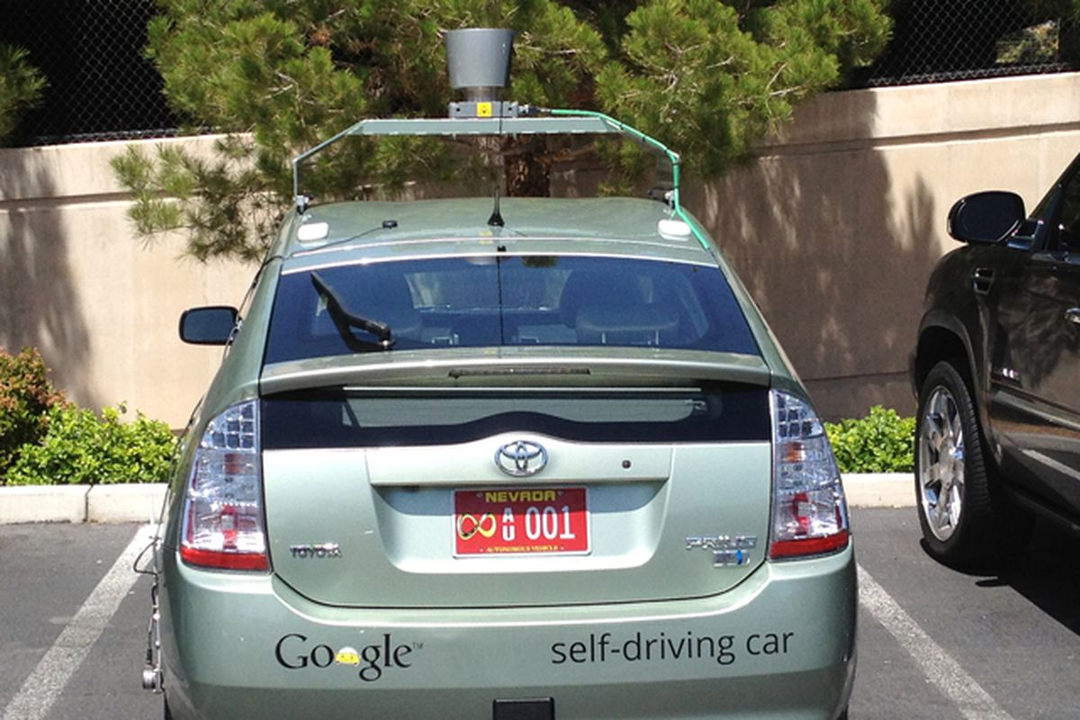 Google's self-driving cars have logged more than 300,000 miles on ...