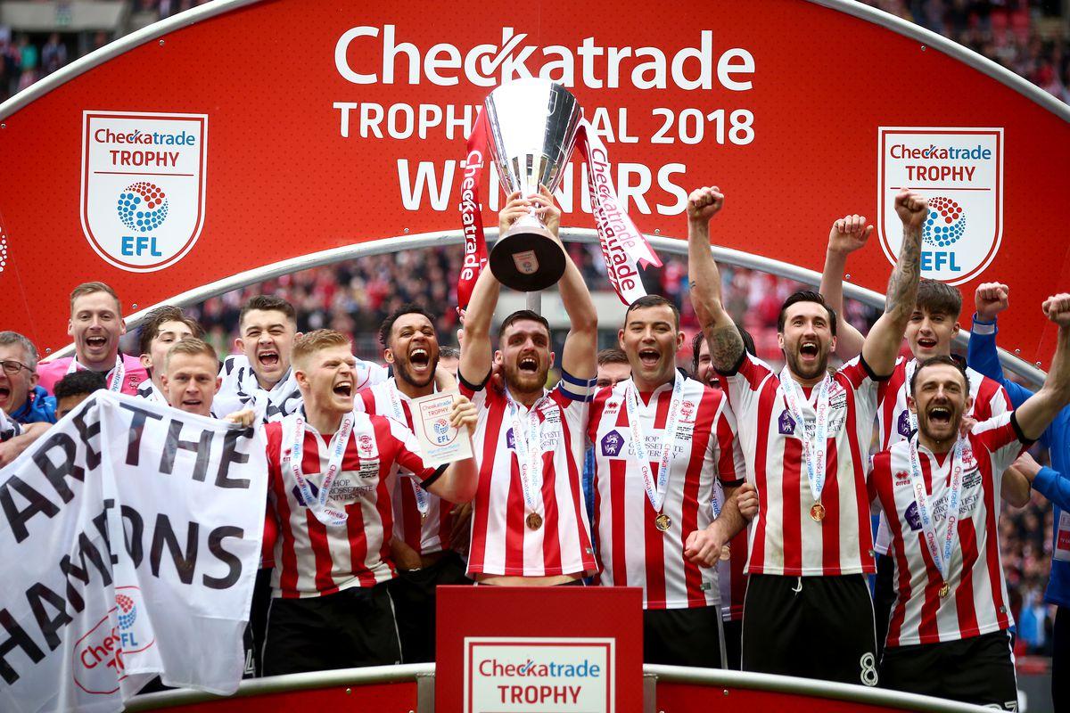 Shrewsbury Town v Lincoln City - Checkatrade Trophy Final