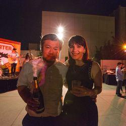 Shion Aikawa from Ramen Tatsu-Ya (with Eater's Amanda Kludt)