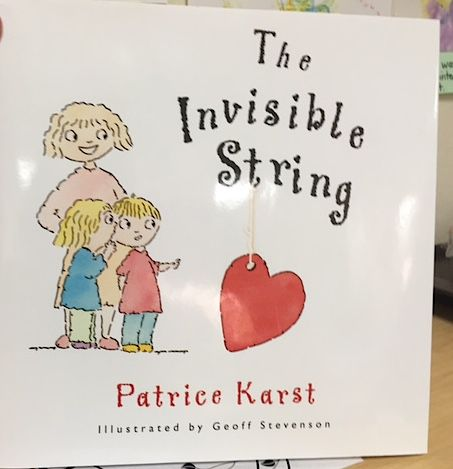 Pam Sturgeon brought this and other books in for teachers to use with students after the death of a classmate at TLC Learning Center.