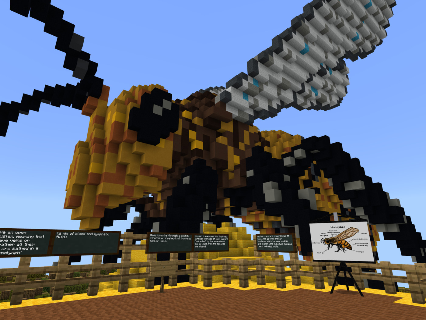 Minecraft Education is perfectly suited for this surreal back to