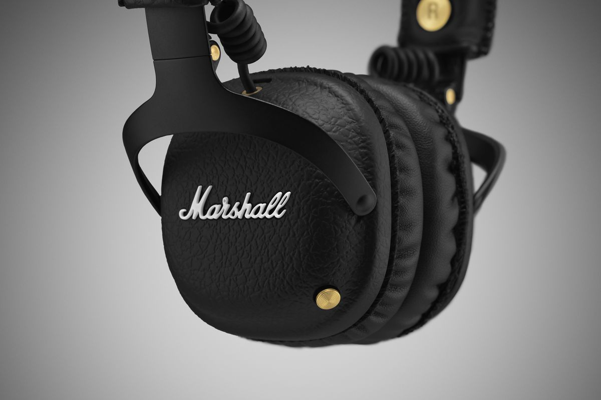 ee68daeb8a2 Marshall mixes old and new with its latest Bluetooth headphones ...